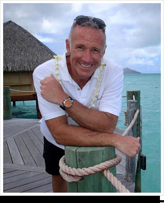 Carl Henderson in Bora Bora