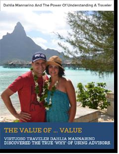 value of using a travel agent advisor