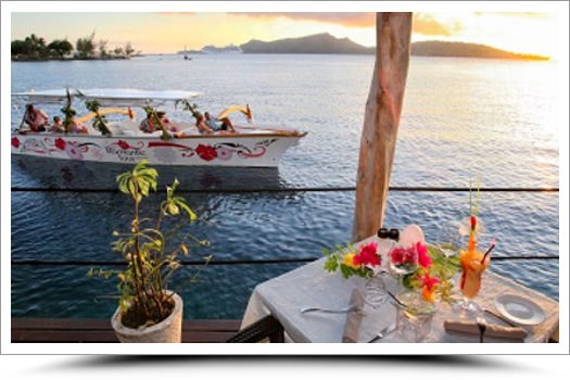 Sunset Cruise & Romantic Dinner at St James