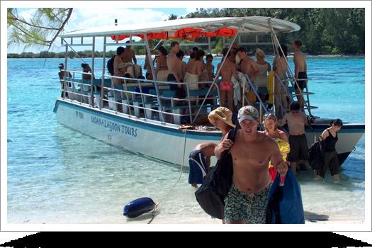 Authentic Moana Lagoon Excursion & Motu Picnic