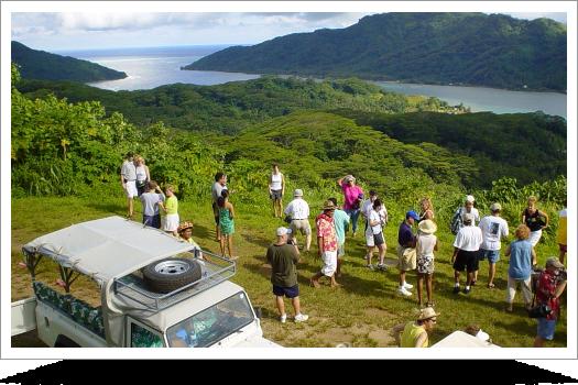 Taha'a 4X4 Island Tour