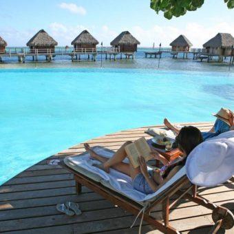 Manava Beach Resort Pool