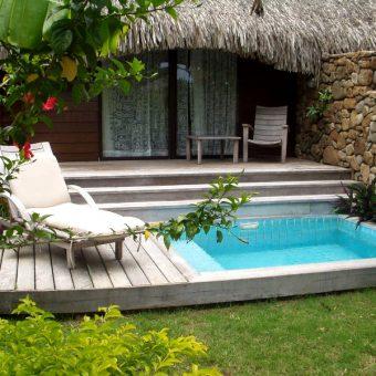 Manava Suite Garden Pool Bungalow