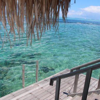 Overwater Bungalow Intercontinental Tahiti