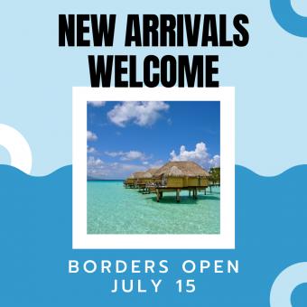 Tahiti borders open July 15 2020