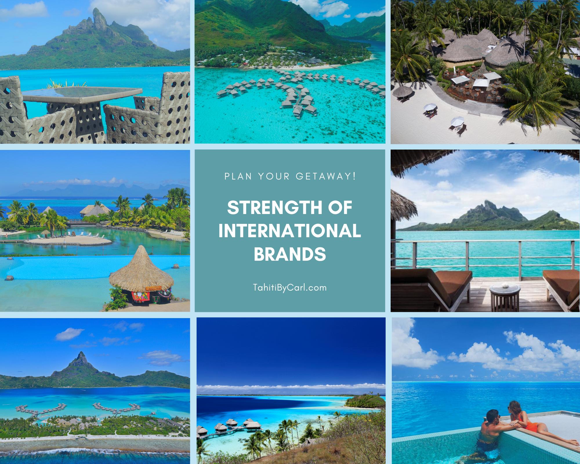 International Hotel Brands of Tahiti