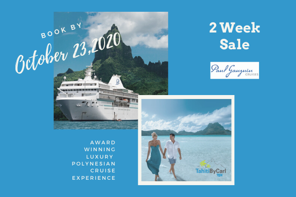 Paul Gauguin Cruises sale
