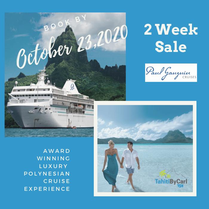 Paul Gauguin 2 Week Cruise Sale