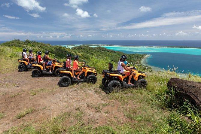 ATV tour in Bora Bora